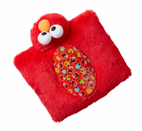 Pillow Pets  Sleeptime Lite Sesame Street Elmo Plush Toy Perspective: top