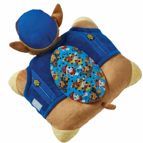 Pillow Pets Sleeptime Lite Nickelodeon Paw Patrol Chase Plush Toy Perspective: top