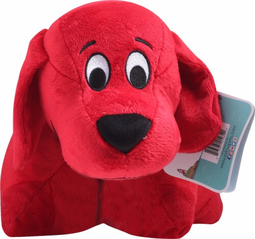 Pillow Pets Scholastic Corp. Clifford The Big Red Dog Plush Toy Perspective: top
