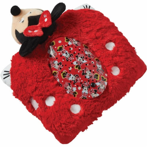 Pillow Pets Sleeptime Lite Disney Minnie Mouse Plush Toy Perspective: top