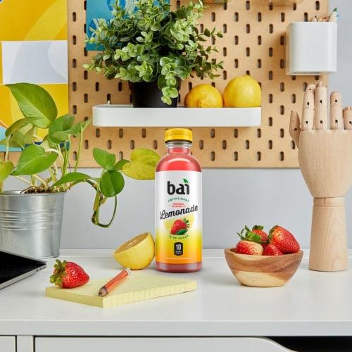 Bai Sao Paulo Strawberry Lemonade Antioxidant Infused Beverage Perspective: top