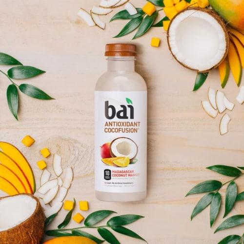 Bai Cocofusion Madagascar Coconut Mango Antioxidant Beverage Perspective: top