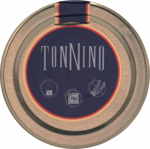 Tonnino Tuna Fillets in Olive Oil Perspective: top
