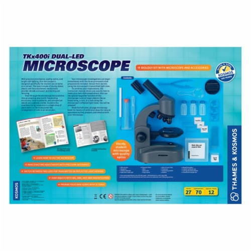 Thames & Kosmos Experiment Kit - TKx400i Dual-LED Microscope Perspective: top