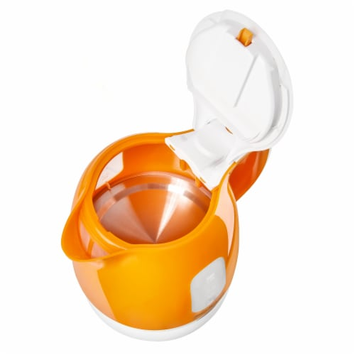 Sencor Small Electric Kettle - Orange Perspective: top