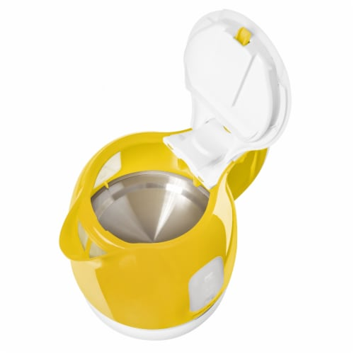 Sencor Small Electric Kettle - Yellow Perspective: top
