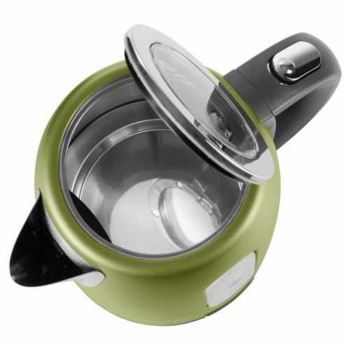 Sencor Stainless Electric Kettle - Light Green Perspective: top