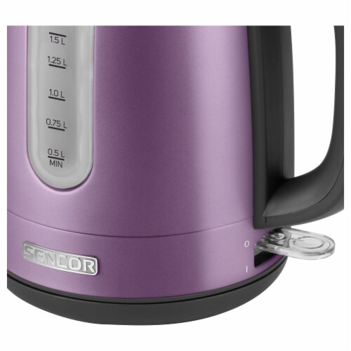 Sencor Stainless Electric Kettle - Violet Perspective: top