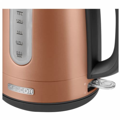 Sencor Stainless Electric Kettle - Gold Perspective: top