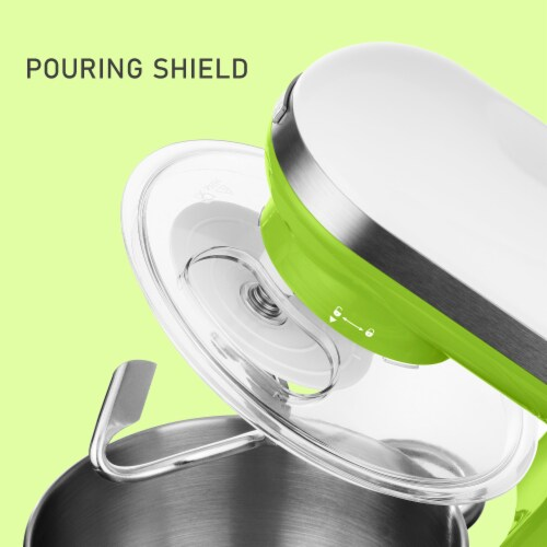 Sencor Stand Mixer with Pouring Shield - Green Perspective: top