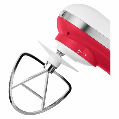 Sencor Stand Mixer with Pouring Shield - Red Perspective: top