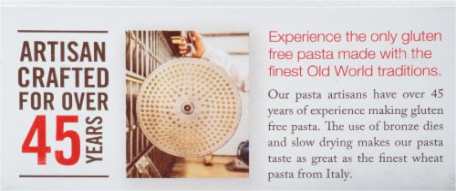 Jovial Organic Brown Rice Fusilli Pasta Perspective: top