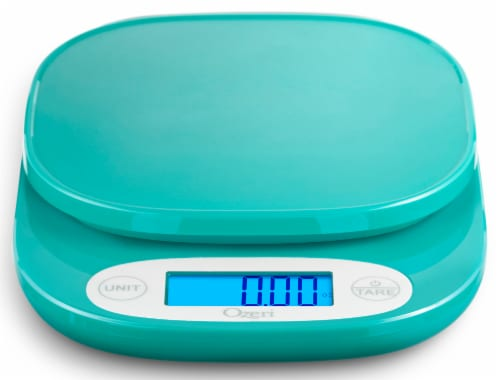 Ozeri ZK24 Garden and Kitchen Scale, with 0.5 g (0.01 oz) Precision Weighing Technology Perspective: top