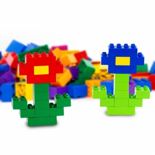 150 pcs BiOBUDDi Assorted Blocks Set Perspective: top