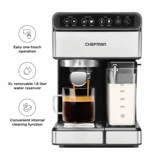 Chefman 6-in-1 Espresso Machine Perspective: top