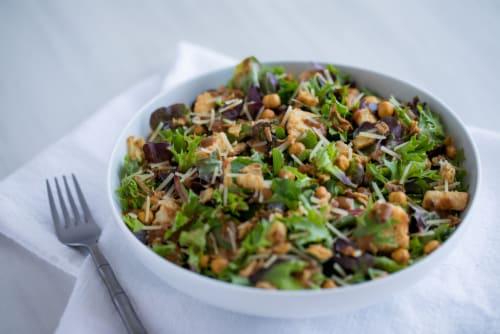 Josie's Organics Lemon Herb Premium Salad Kit Perspective: top
