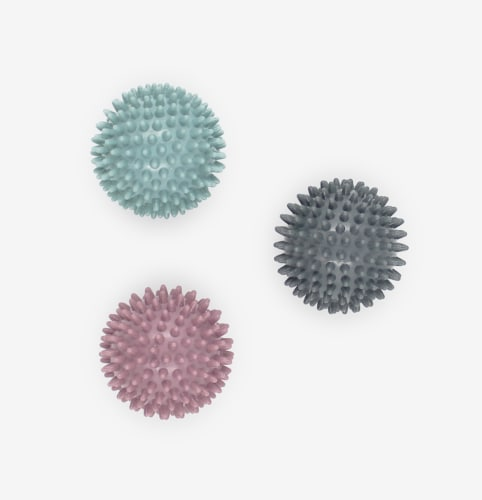 Oak and Reed Renew Spiky Massage Ball, Mauve Perspective: top