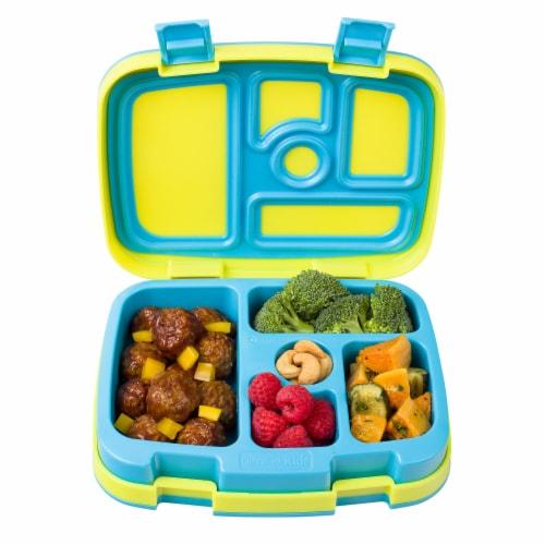Bentgo Kids Brights Durable & Leak Proof Children's Lunch Box - Citrus Yellow Perspective: top
