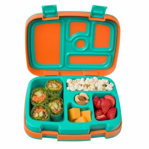 Bentgo Kids Durable & Leak Proof Children's Lunch Box - Orange Perspective: top