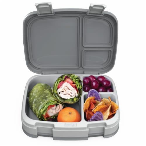 Bentgo Fresh Bento Box - Gray Perspective: top