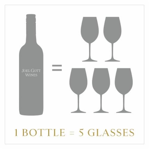 Joel Gott Central Coast Rose Wine Perspective: top
