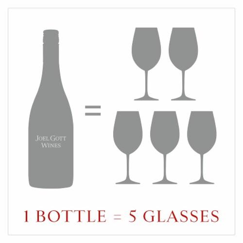 Joel Gott Pinot Noir Red Wine Perspective: top