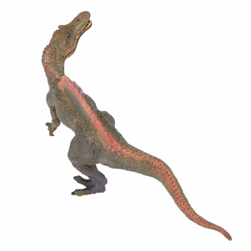 Realistic Plastic Toy Dinosaur Figure with Movable Jaw for Children Decoration Perspective: top
