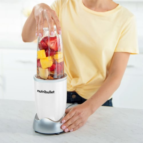 NutriBullet PRO Nutrient Extractor - White Perspective: top