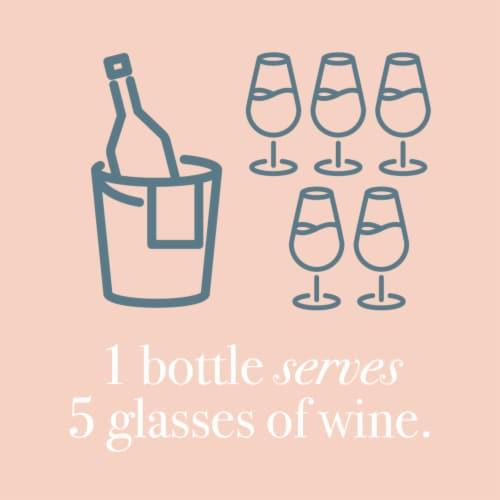 Martin's Rake Rose Wine Perspective: top