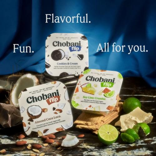 Chobani® Flip Peanut Butter Cup Low-Fat Greek Yogurt Perspective: top