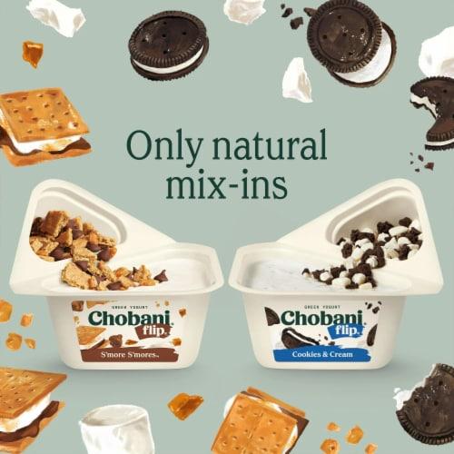 Chobani® Flip® Peanut Butter Dream Low-Fat Greek Yogurt Perspective: top