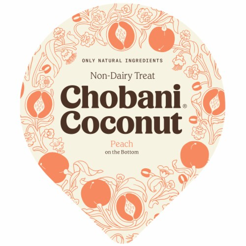 Chobani® Coconut Peach Non-Dairy Blend Perspective: top