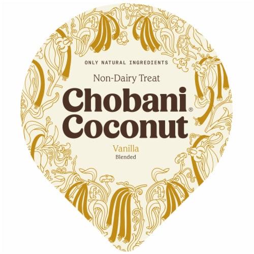 Chobani® Coconut Vanilla Non-Dairy Blend Perspective: top