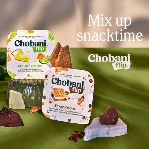 Chobani® Flip® Cookie Dough Low-Fat Greek Yogurt Perspective: top