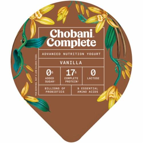 Chobani® Complete Vanilla Advanced Nutrition Yogurt Perspective: top