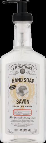 J.R. Watkins Savon Coconut Liquid Hand Soap Perspective: top