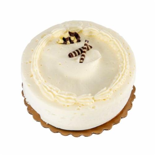 Antonina's Artisan Bakery Gluten Free Yellow Single Layer Cake Perspective: top