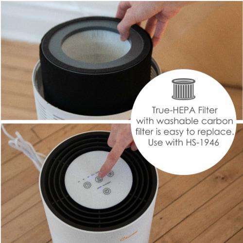 Crane True HEPA UV Air Purifier Perspective: top