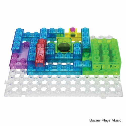 E-Blox Circuit Blox Induction Spinner Building Toy Perspective: top