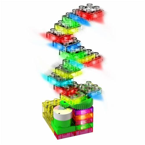 E-Blox Lights N' Motion LED Building Blocks Perspective: top