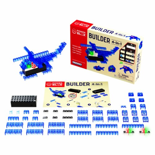 E-Blox LED Building Blocks Perspective: top