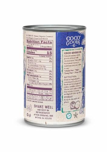 CocoGoods Co Organic Coconut Milk Lite 13.5 fl. oz Perspective: top