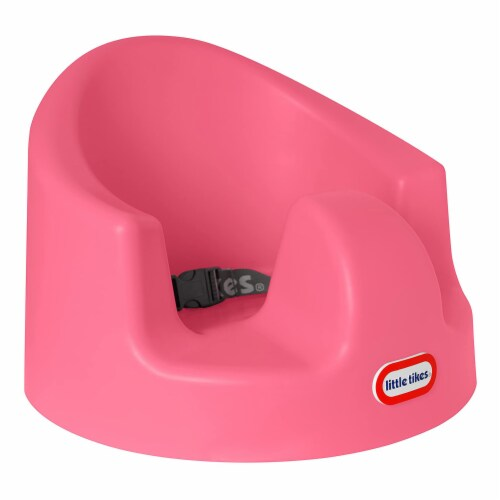 Little Tikes My First Seat Infant Toddler Foam Floor Support Baby Chair, Pink Perspective: top