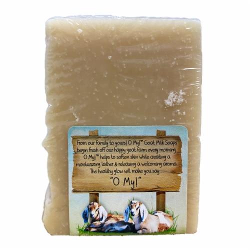 O My! Goat Soap Bar, Eucalyptus Spearmint, 6 Ounces Perspective: top