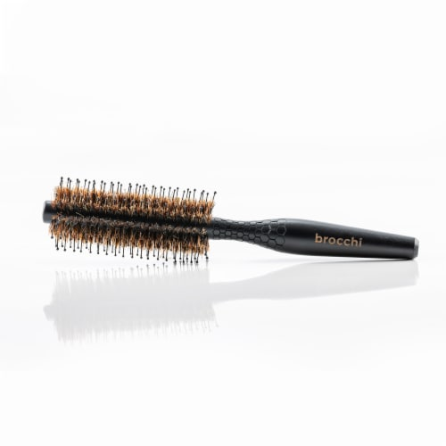Brocchi Boar Bristle & Nylon Styling Brush Perspective: top