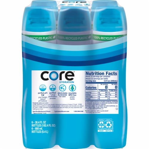 Core® Hydration Water Perspective: top