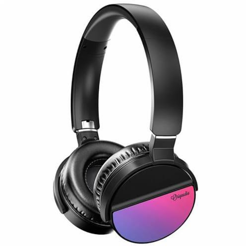 Origaudio Lunatune Wireless Headphones - Purple Perspective: top