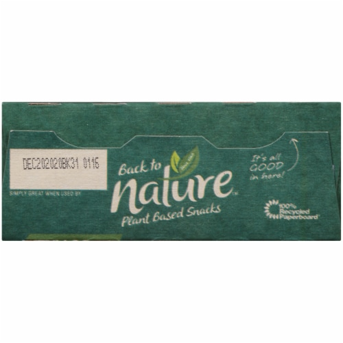 Back to Nature Fudge Mint Cookies Perspective: top