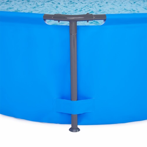 """Bestway 10' x 30"""" Steel Pro Frame Max Round Above Ground Swimming Pool with Pump Perspective: top"""