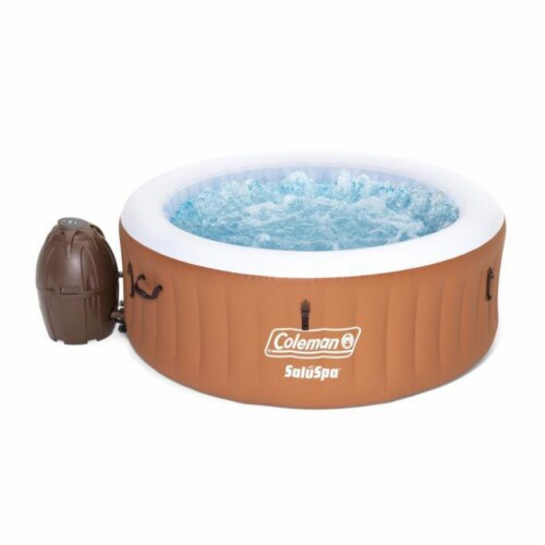 Coleman 90455E SaluSpa Miami Air Jet 4 Person Inflatable Hot Tub Spa with Pump Perspective: top